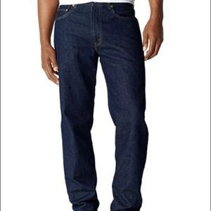 Levi's 501 Button Fly Straight Leg Jeans